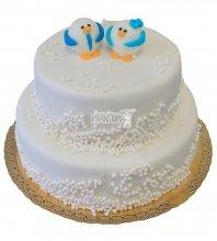 №440 Свадебный торт классический