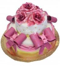 №442 Свадебный торт классический
