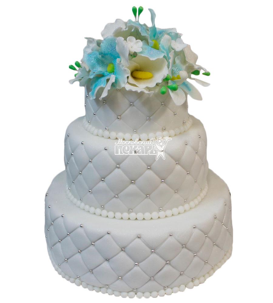 №446 Свадебный торт классический