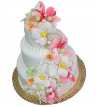 №449 Свадебный торт классический