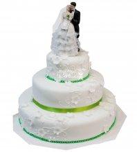 №451 Свадебный торт классический
