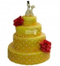 №452 Свадебный торт классический