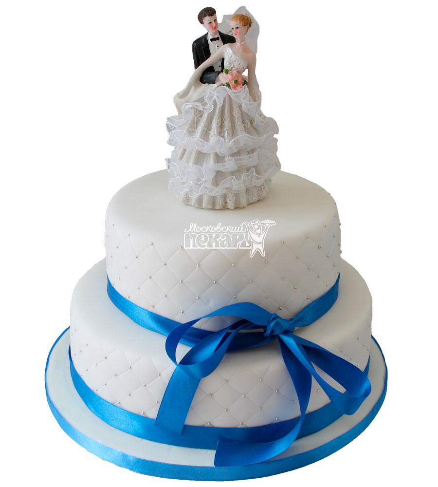 №454 Свадебный торт классический