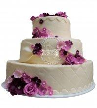 №455 Свадебный торт классический