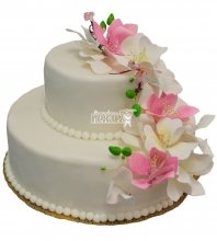 №457 Свадебный торт классический