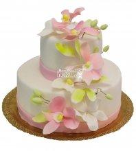№459 Свадебный торт классический