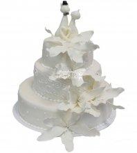 №460 Свадебный торт классический