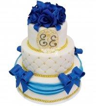 №463 Свадебный торт классический