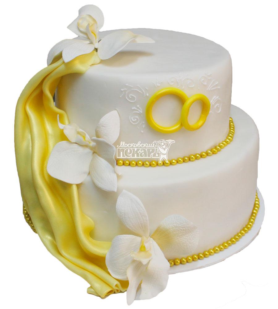 №467 Свадебный торт классический