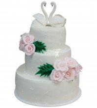 №468 Свадебный торт классический