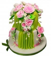 №216 Свадебный торт классический