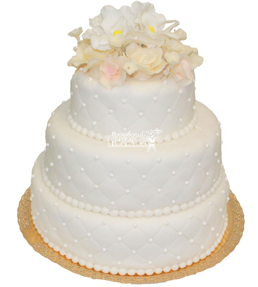 №224 Свадебный торт классический