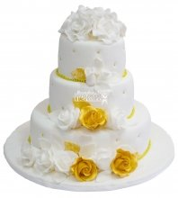 №228 Свадебный торт классический