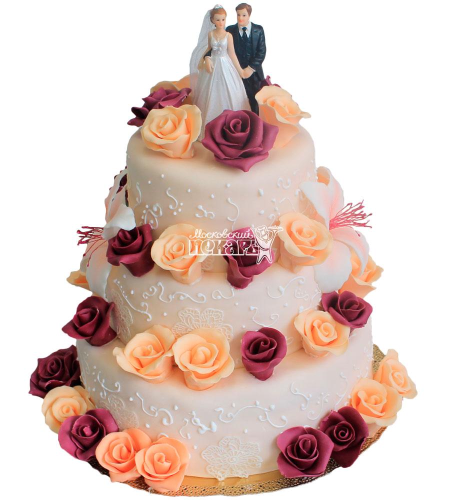№237 Свадебный торт классический
