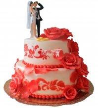 №230 Свадебный торт классический