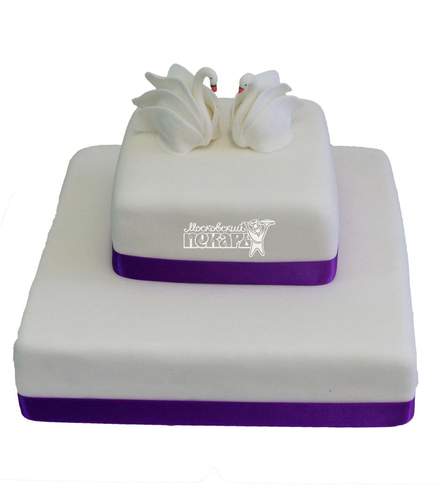 №218 Свадебный торт классический