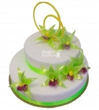 №225 Свадебный торт классический