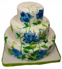№244 Свадебный торт классический