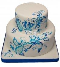 №212 Свадебный торт классический