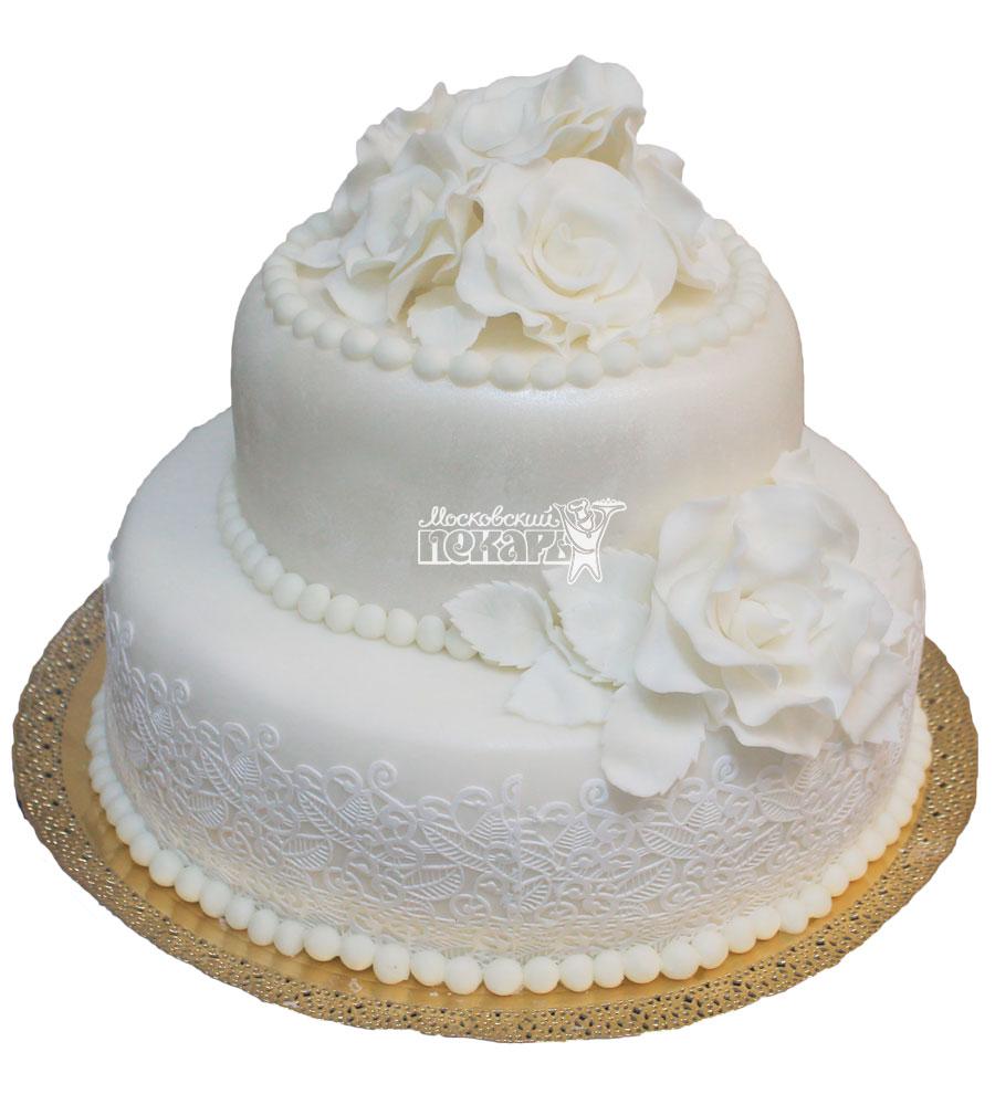 №282 Свадебный торт классический