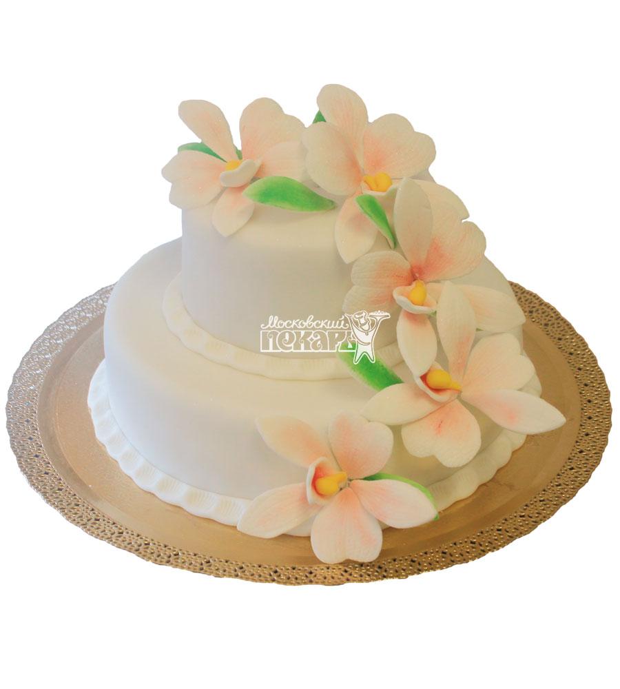 №270 Свадебный торт классический
