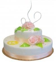 №290 Свадебный торт классический