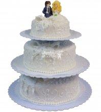 №294 Свадебный торт классический