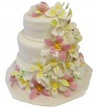 №296 Свадебный торт классический