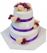 №305 Свадебный торт классический