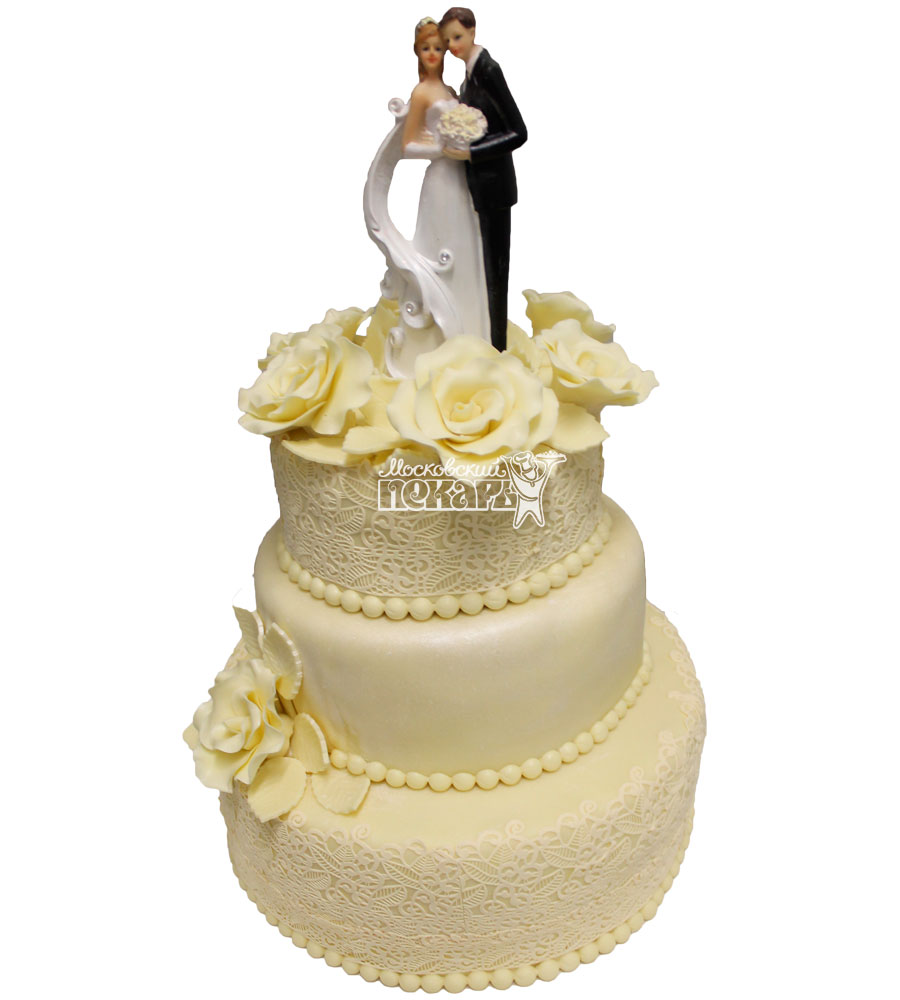 №333 Свадебный торт классический