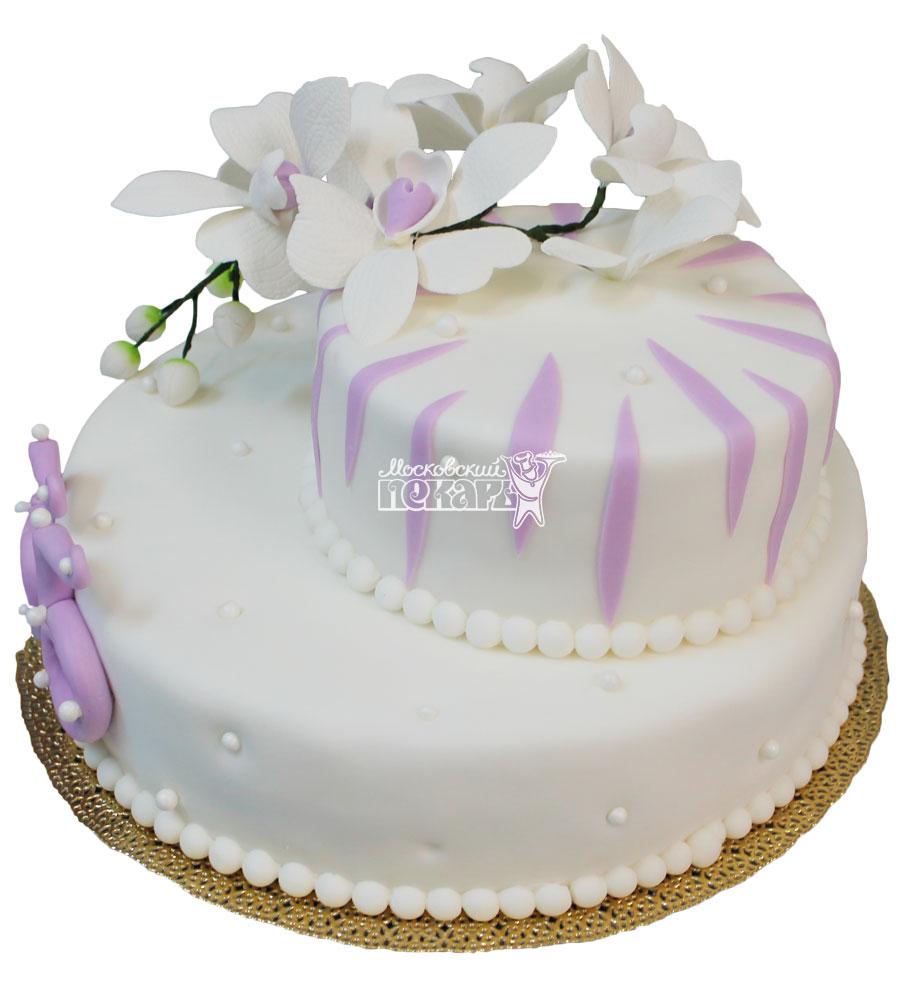 №338 Свадебный торт классический