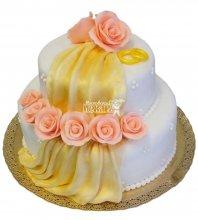 №241 Свадебный торт классический