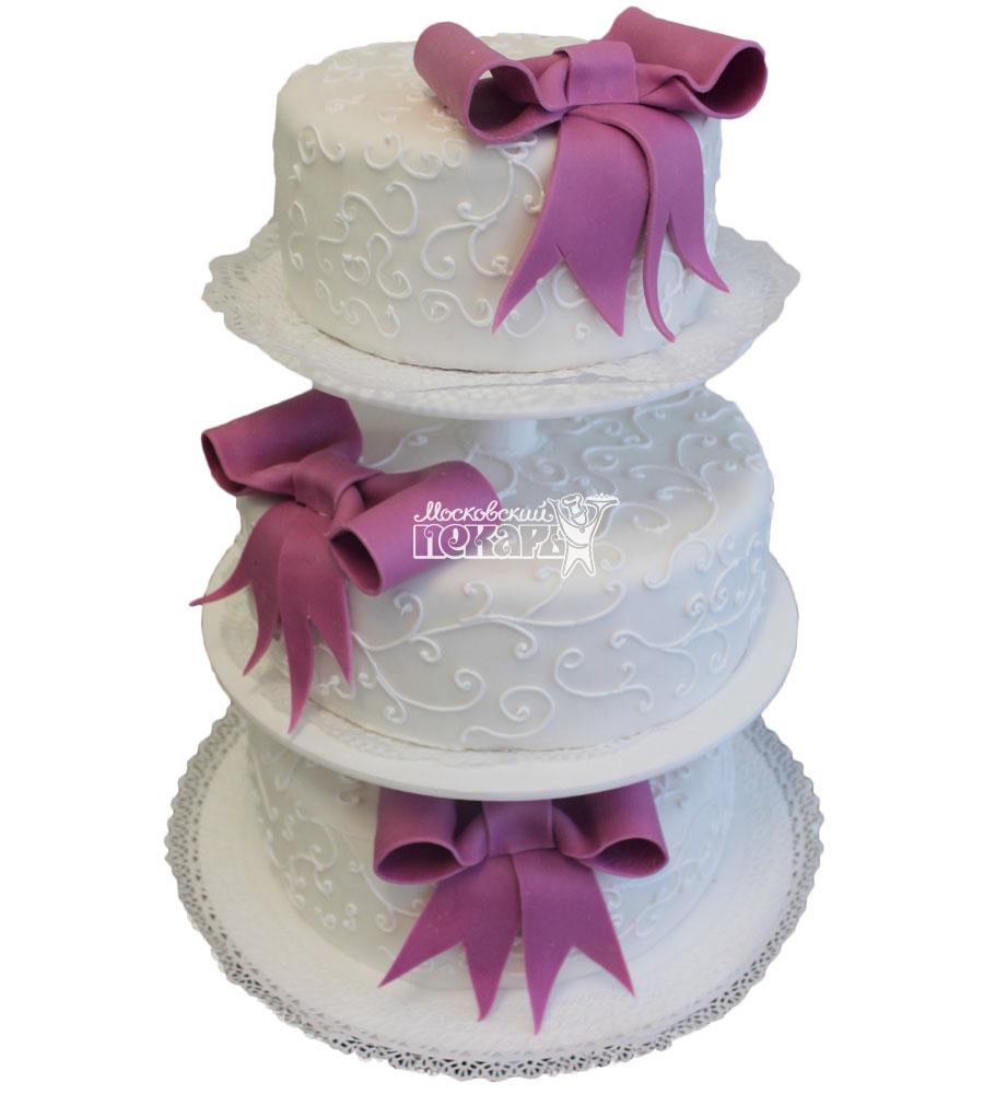 №217 Свадебный торт классический