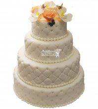 №293 Свадебный торт классический