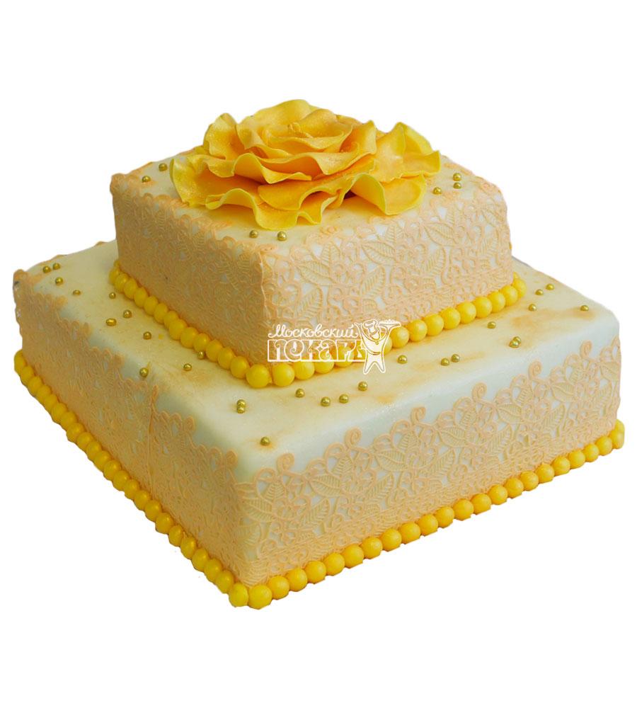 №206 Свадебный торт классический