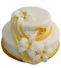 №342 Свадебный торт классический
