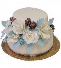 №210 Свадебный торт классический