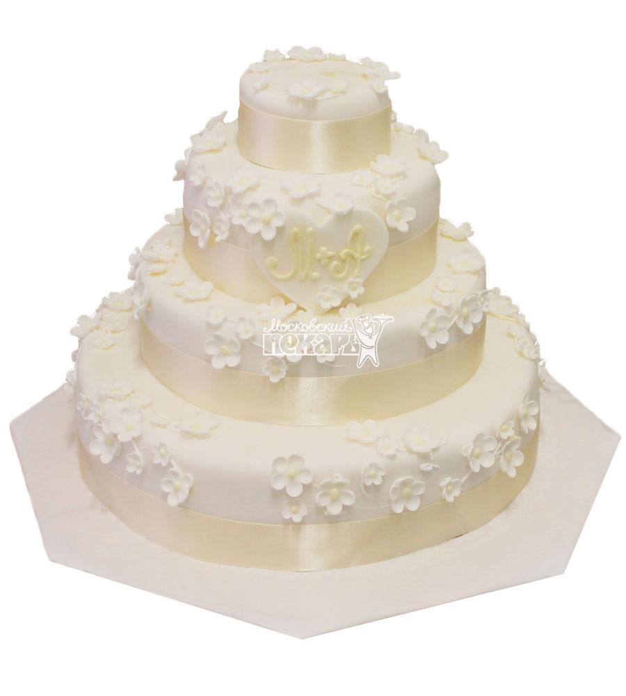 №316 Свадебный торт классический
