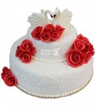 №215 Свадебный торт классический