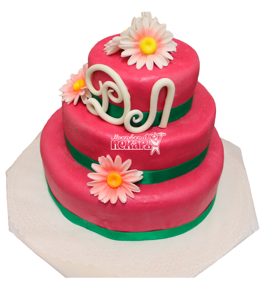№258 Свадебный торт классический