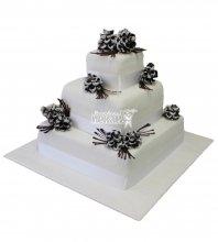 №283 Свадебный торт классический