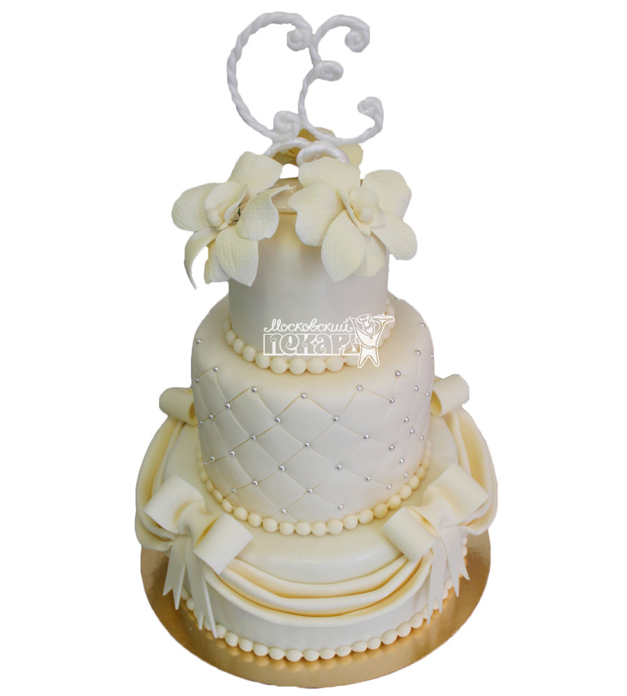 №314 Свадебный торт классический