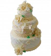 №313 Свадебный торт классический