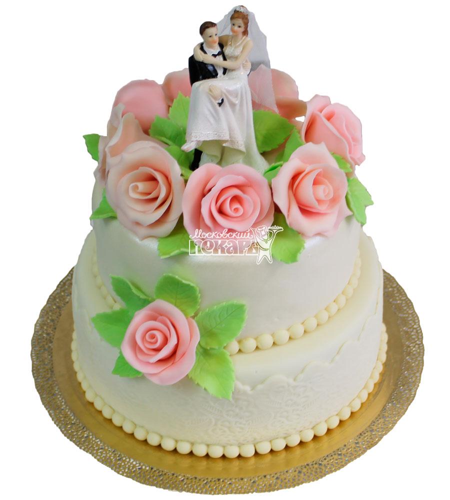 №330 Свадебный торт классический