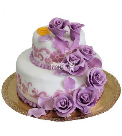 №205 Свадебный торт классический