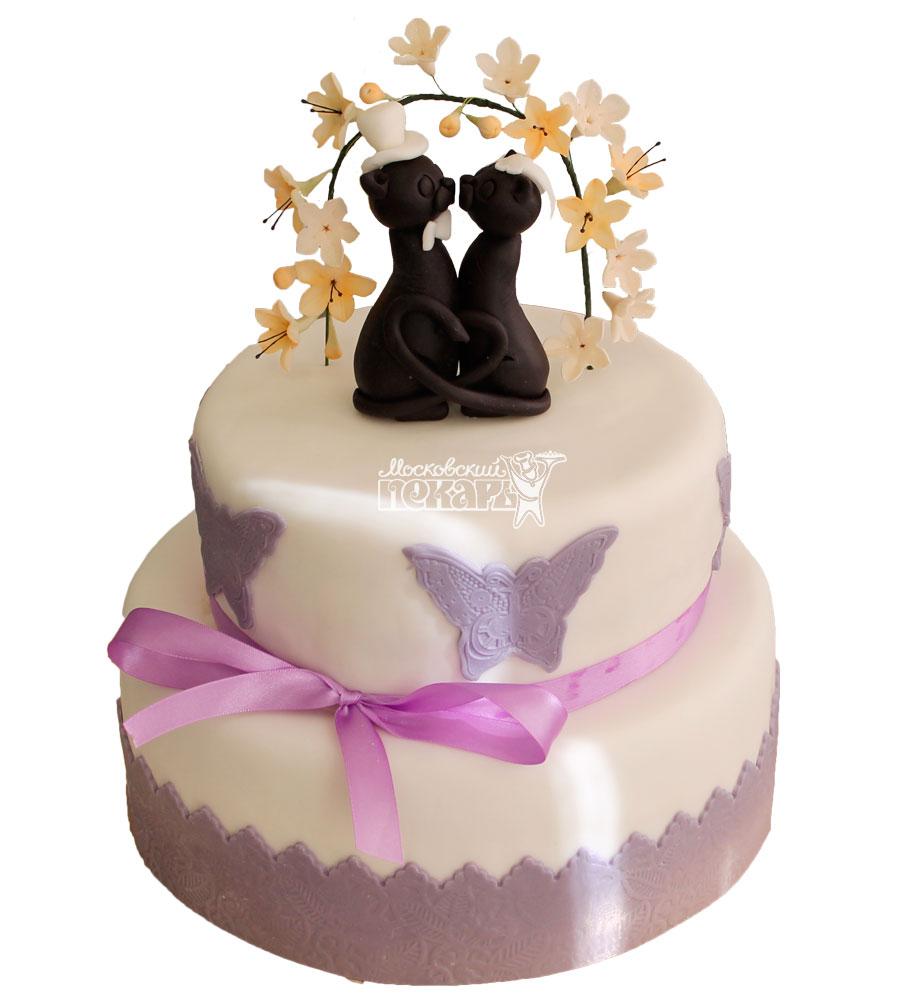№343 Свадебный торт классический