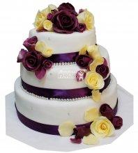 №310 Свадебный торт классический