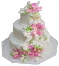 №312 Свадебный торт классический