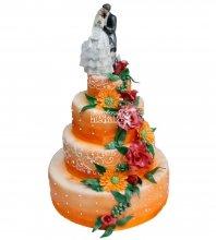 №326 Свадебный торт классический