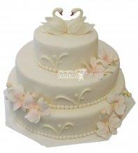 №209 Свадебный торт классический